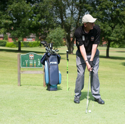 Richard Brown Golfer PGA professional Cheshire UK